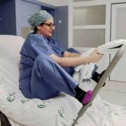 Postura vertical para el parto